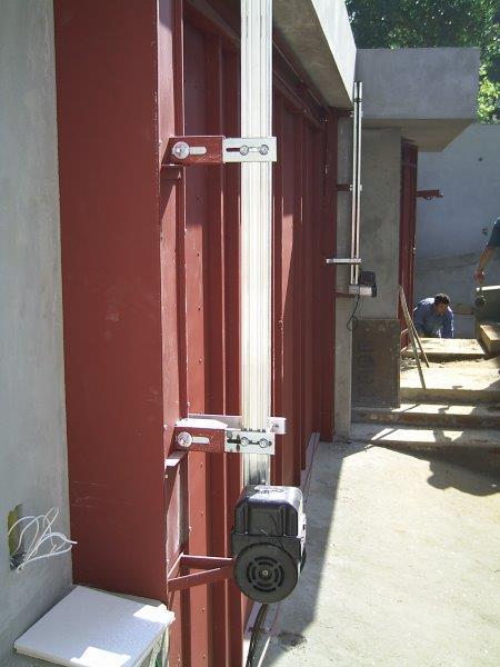 Automatização de portão