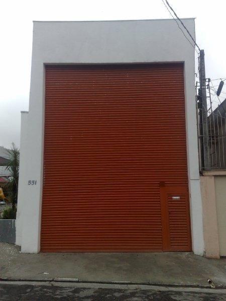 Porta de enrolar automática na zona sul