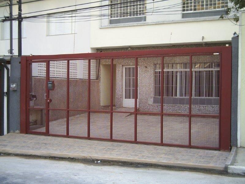 Portão guilhotina