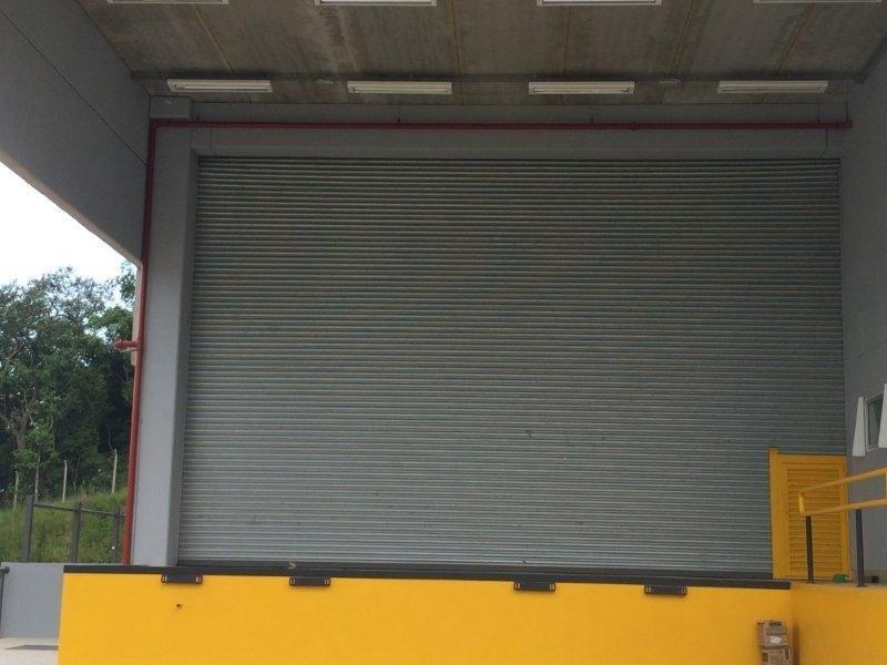 Portas de aço automáticas para comercio