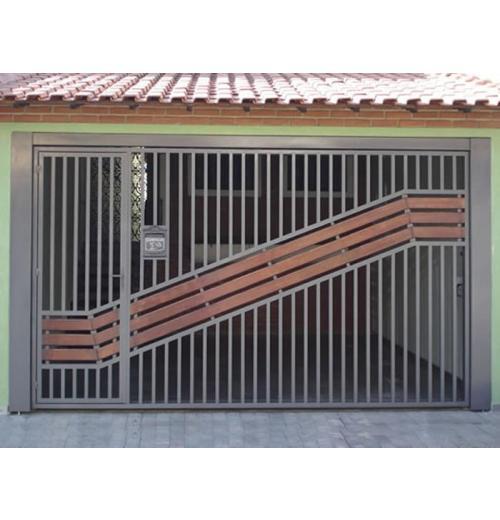 ATM-04 PORTÃO COM MADEIRA