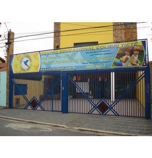ATM-05 PORTÃO COM MADEIRA