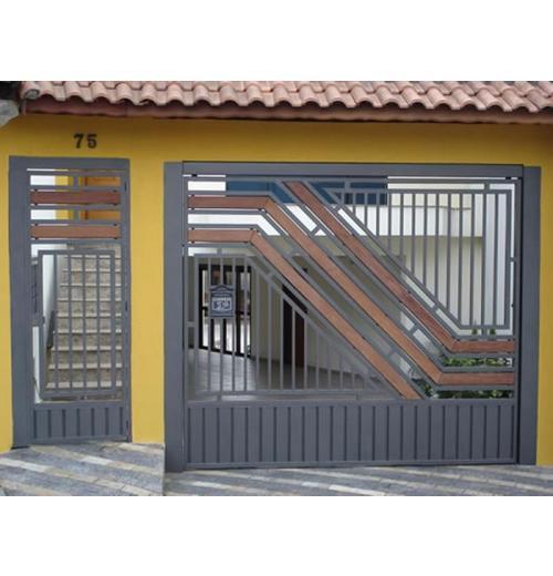 ATM-12 PORTÃO COM MADEIRA